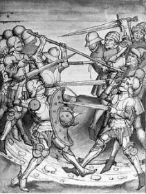 Luptă medievală