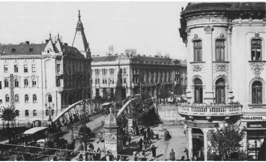 Podul Mare la inceputul secolului al XX-lea