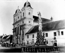 Statuia Sfintei Maria Protectoarea (foto 1859)
